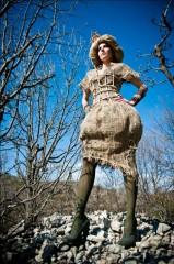 moda,abiti,eco,fashion,collezione,modelle,dryad,grillo,onu,bosco